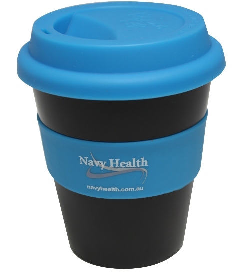 Eco Coffee Mug Black blue